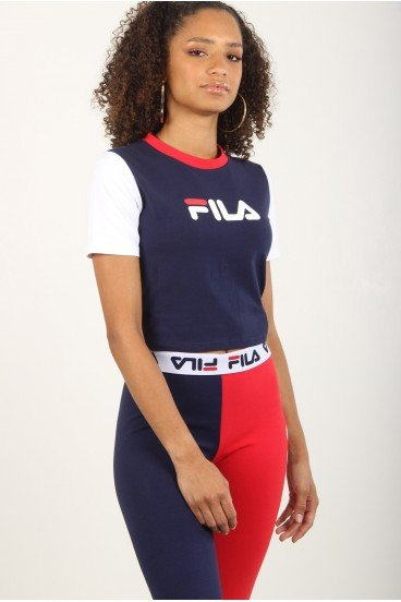 anna fitted t-shirt woman fila