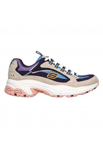 Baskets Stamina - Sugar Rocks gris / Skechers