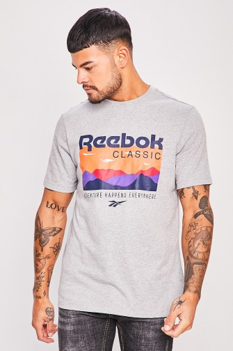 T-shirt blanc Trail Graphic / Reebok