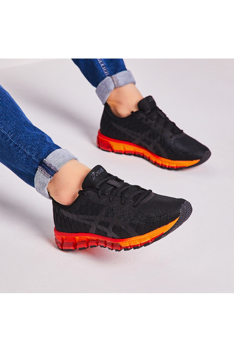 asics rouge et orange