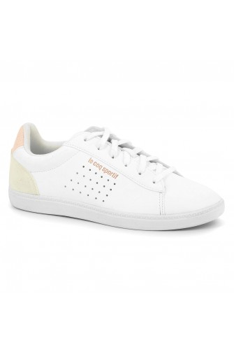 Baskets Courtstar GS shiny blanc / Le coq sportif