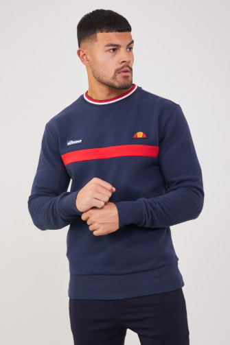 Sweat Columbus bleu marine / Ellesse